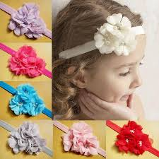 baby hair bows 2017 handmade flower hair bows baby headbands for 3