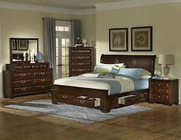 Bedroom Sets With Drawers Under Bed Queen Cherry Under Storage Bedroom Set My Furniture Place