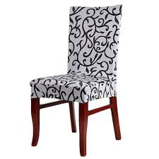 paddy stretch short removable dining room stool chair cover
