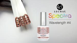 lechat spectra nail tutorial wavelength youtube