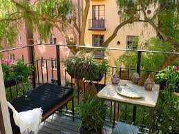 exterior balcony and terrace decoration ideas traditional