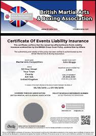 Event Insurance Martial Arts Events Insurance