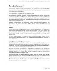 doc 20062535 1 page executive summary template u2013 doc12751650 1