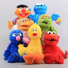 aliexpress buy 7 characters sesame street hand puppet plush