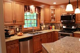 mocha kitchen cabinets near clintonville by sembro designs