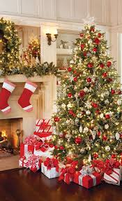 celebrate the holiday season decorating christmas tree and holidays