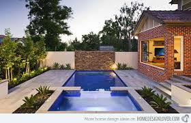 Townhouse Backyard Design Ideas 15 Great Small Swimming Pools Ideas Home Design Lover