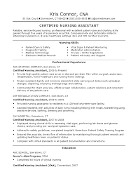 Sample Resume Certified Nursing Assistant by Download Certified Nursing Assistant Or Gi Technician Docshare Tips