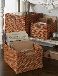 bathroom boxes baskets 132 best storage baskets images on pinterest plastic storage
