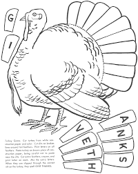 thanksgiving coloring pages and cutouts olegandreev me