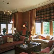 Curtains For Formal Living Room Tartan Highlights Living Room Formal Living Rooms 10 Of The
