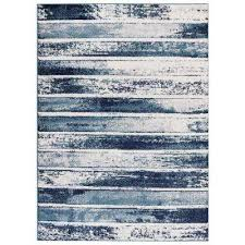 Striped Area Rugs 8x10 8 X 10 Heat Resistant Striped Area Rugs Rugs The Home Depot
