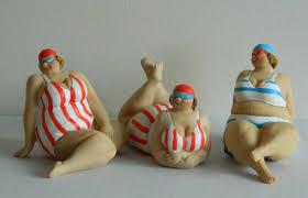 figurines figures groups decorative ornaments plates