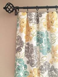 Yellow And Gray Window Curtains Grey Bathroom Window Curtains Carnation Home Fashions Fabric