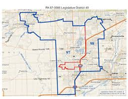 Map Of Illinois State by Will County Politics Realigned Illinois State Legislative And