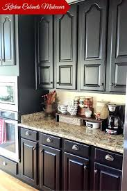 Matte Black Kitchen Cabinets Kitchen Black Cabinet Painted Kitchen Cabinets With General