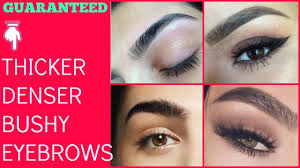 Bushy Eyebrows Meme - how to grow thicker eyebrows in just 2 weeks guaranteed thick