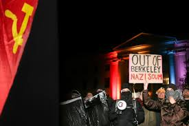 Vanguard Flag Inside The Black Bloc Protest Strategy That Shut Down Berkeley