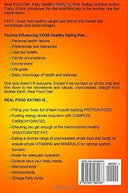 real food diet easy healthy eating cathy wilson 9781505462487