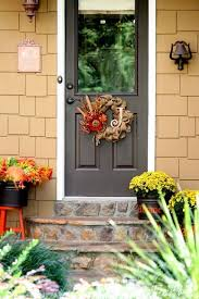 fall door decorations 12 diy fall door decorations refresh restyle