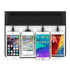phone charger station ob 01b plastic mobile phone charging station for coffee house