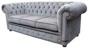 Gray Chesterfield Sofa Sofas Decoration - Fabric chesterfield sofas