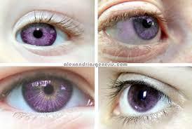 purple eye color alexandria s genesis purple eyes mutation real or fake