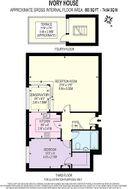 Ivory Homes Floor Plans by 1 Bedroom Penthouse For Sale In Ivory House East Smithfield