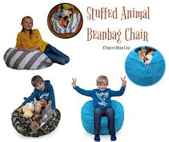 stuffed animal beanbag chair easy ways to declutter your kids room