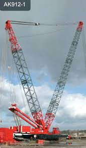 Pedestal Crane Cranes Ale Heavylift