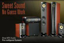 Mtx Bookshelf Speakers Mtx Audio Mtxaudio On Pinterest