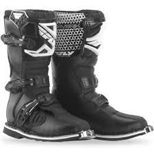 dirt bike motorcycle boots new fly racing 2018 mx youth maverik black kids dirt bike motocross