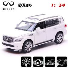 collectible model cars shop white light up toys 1 34 scale models infiniti qx56