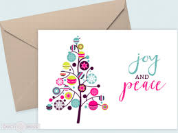 free printable christmas cards with own photo joy and peace free printable holiday cards