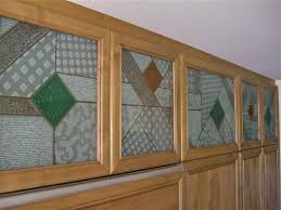 Kitchen Cabinet Inserts Cabinet Glass Sans Soucie Art Glass