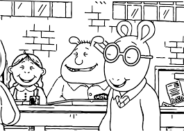 arthur buster bombs coloring page wecoloringpage