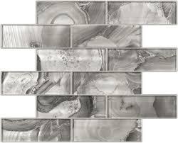 2x6 glitz quartz glass mosaics passage main bath pinterest