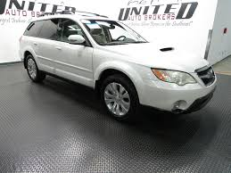 white subaru outback 2009 used subaru outback 4dr h4 manual xt ltd at united auto