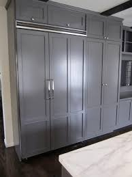 built in refrigerator cabinet concealed refrigerator contemporary kitchen cococozy
