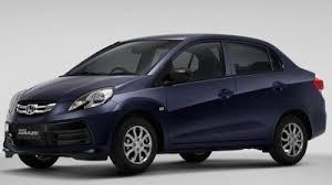 honda cars in india price list honda amaze november 2017 price list model variant list india