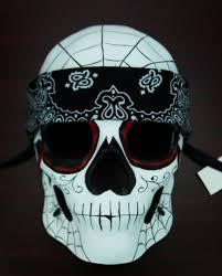 day of the dead masks of the dead skull mask bandana
