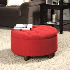 Ottoman Red by Bedroom Ideas Modern Ottomans And Cubes Round Storage Ottoman
