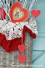 Valentine S Day Decor Pottery Barn by Serendipity Refined Blog Simple Diy Valentines Day Door Decor