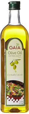 extra light virgin olive oil gaia extra light olive oil 1ltr amazon in grocery gourmet foods