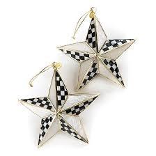 mackenzie childs bright ornaments set of 2 ebay