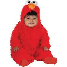 elmo plush deluxe infant costume buycostumes com