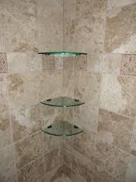 glass corner shelves 10 inch quarter glass tile and