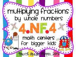 fractions math multiplying fractions math centers aligned to common 4 nf 4