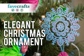 easy and elegant christmas ornaments youtube