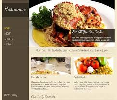 40 free themes for food and recipe pixelpush design